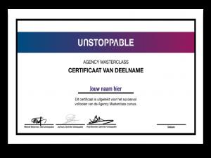 Certificaat Bol Masterclass winsttrading