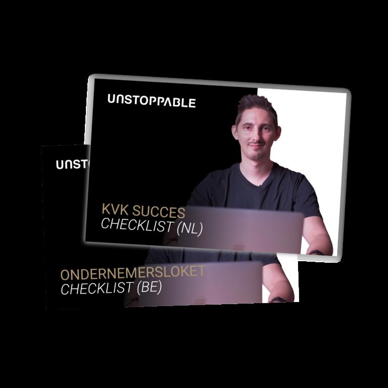 Checklist winston zwemmer bol masterclass